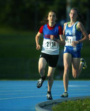 Cara Thorne (left) at OFSAA