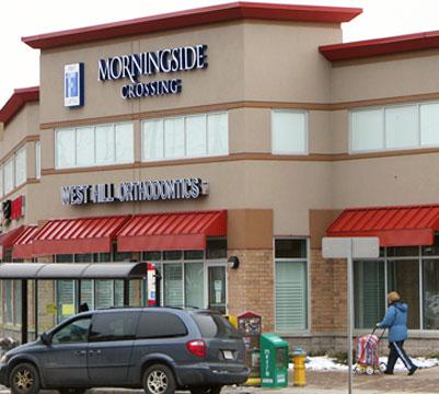 Morningside Mall - a more modern look