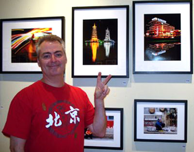 Jonathan Warden is the creator of the exhibition Saving Face...s. It took place April 4 - 6, between 10 a.m. to 5p.m., at the Chinese Cultural Centre of Greater Toronto. All proceeds went to the Make a Wish Foundation.