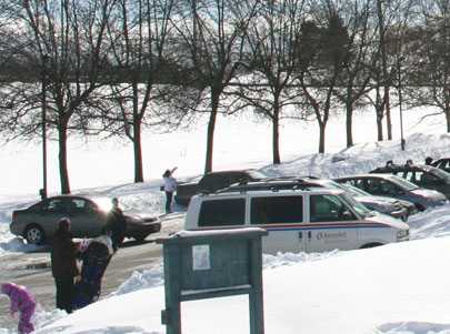People are getting fed up by break-ins at Glen Rouge Park.