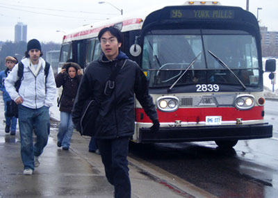 University of Toronto Scarborough students head to the polls to vote on