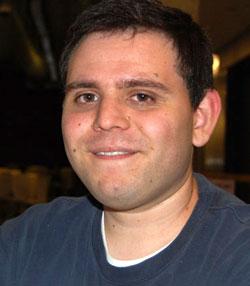 NDP candidate Ryan Sloan