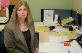 Sharon Shearstone, program counsellor helps women assess their employability skills and find work.