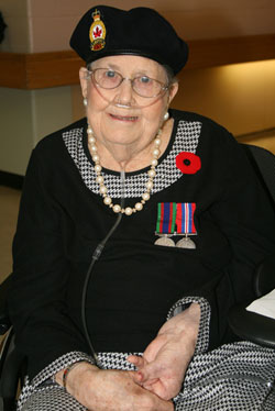 Mary Chadwick, veteran, 89