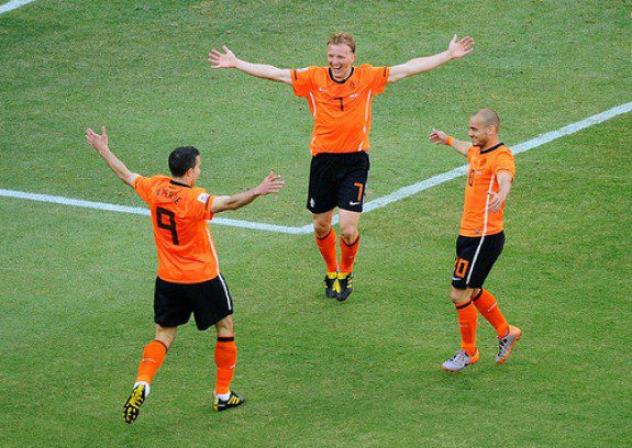 The Oranje advance to first finals in 22 years