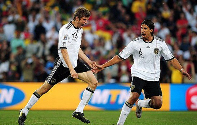 Flu ridden Germans top Uruguay for third place