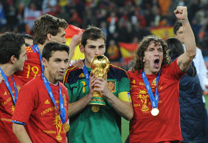 Spain become first time World Cup winners