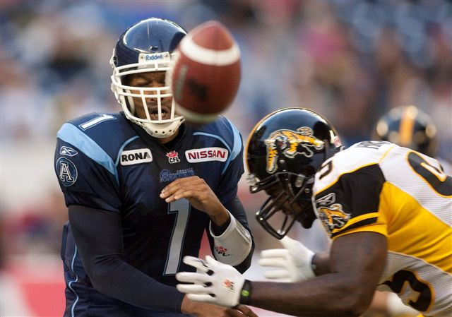 Argos lose big in critical matchup with Ticats