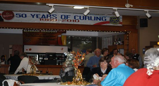 Curling club celebrates golden anniversary