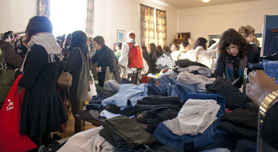 Charity clothing swap uber way to refresh wardrobe