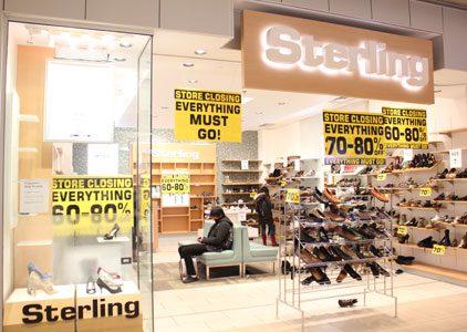 Scarborough Town Centre Shoe Stores